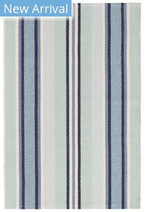 Dash And Albert Barbados Stripe Blue Area Rug