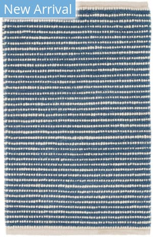 Dash And Albert Brushed Stripe Denim Area Rug