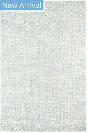 Dash And Albert Crosshatch Micro Hooked Sky Area Rug