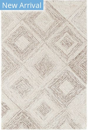 Dash And Albert Escher Micro Hooked Natural Area Rug