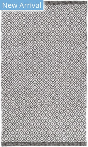 Dash And Albert Facet Chenille Grey Area Rug