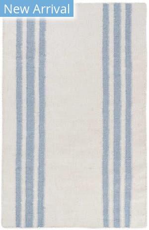 Dash And Albert Farmhouse Stripe Blue Area Rug