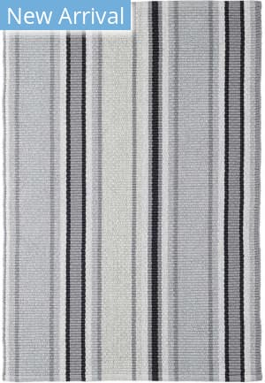 Dash And Albert Greyson Stripe Grey Area Rug