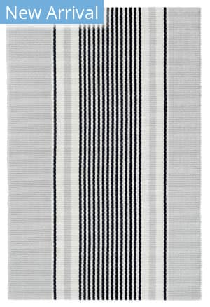 Dash And Albert Gunner Stripe Blue Area Rug