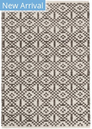Dash And Albert Hopscotch Woven Grey Area Rug
