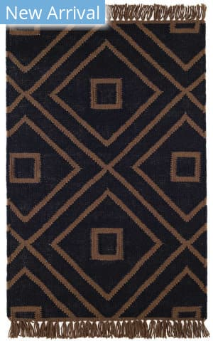Dash And Albert Mali Indoor - Outdoor Black Area Rug