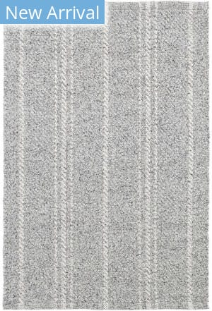 Dash And Albert Melange Stripe Grey - Ivory Area Rug