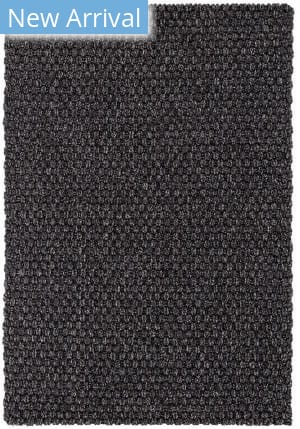 Dash And Albert Mingled Rope Black - Ivory Area Rug