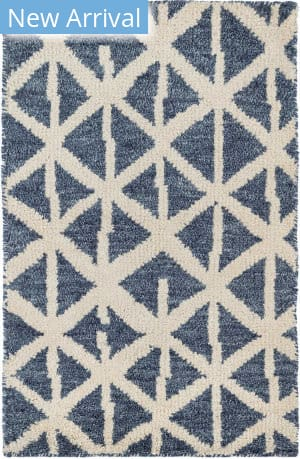 Dash And Albert Newport Knotted Blue Area Rug