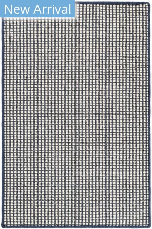 Dash And Albert Pixel Woven Indigo Area Rug