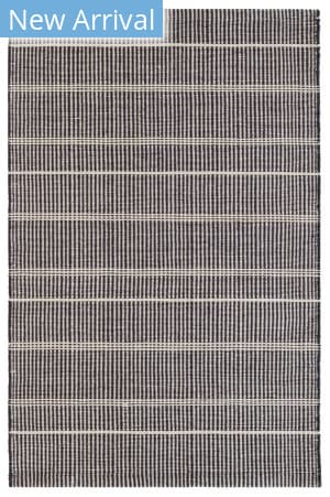 Dash And Albert Samson Indoor-Outdoor Black Area Rug