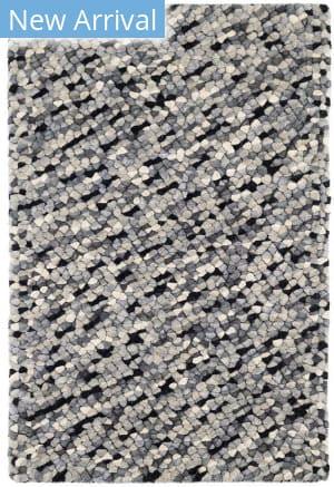 Dash And Albert Seurat Woven Grey Area Rug