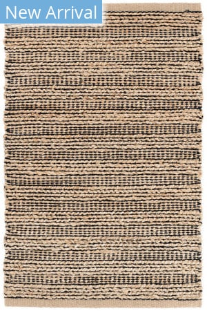 Dash And Albert Simba Woven Black Area Rug