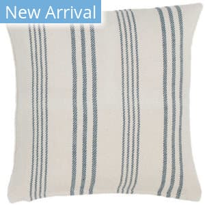 Dash And Albert Swedish Pillow Stripe Blue Area Rug