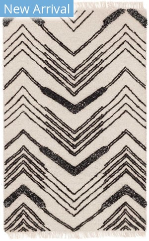 Dash And Albert Tasha Woven Ivory - Black Area Rug