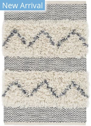 Dash And Albert Zags Woven Denim Area Rug