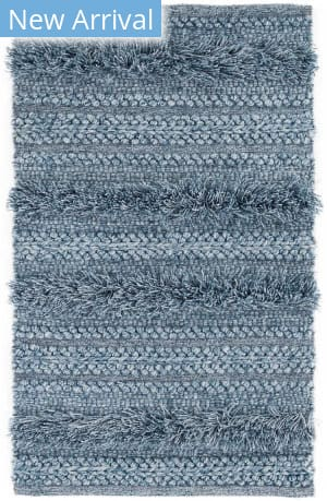 Dash And Albert Zhara Stripe Denim Area Rug
