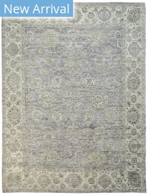 Rugstudio Sample Sale 167942R Lilac - Cream Area Rug