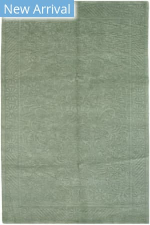 Eastern Rugs Indo-Nepalese 14441 Green Area Rug
