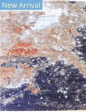 Eastern Rugs Galaxy 42127 Blue Area Rug
