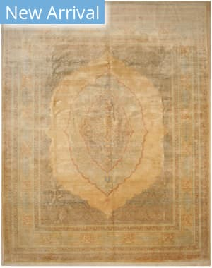 Eastern Rugs Medallion Bk10bg Beige Area Rug