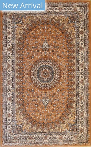 Eastern Rugs Tabriz Fl52rt Cinnamon Area Rug