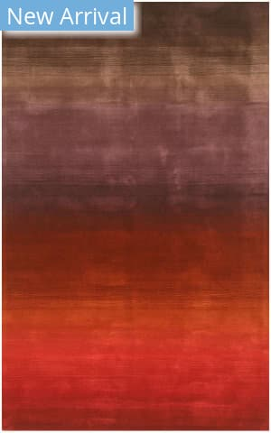 Eastern Rugs Horizon Hl8mu Red Area Rug