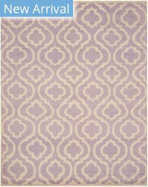 Eastern Rugs Moroccan Ie79pl Purple Area Rug