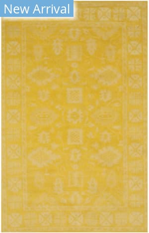 Eastern Rugs Overdyed Ie85yl Yellow Area Rug