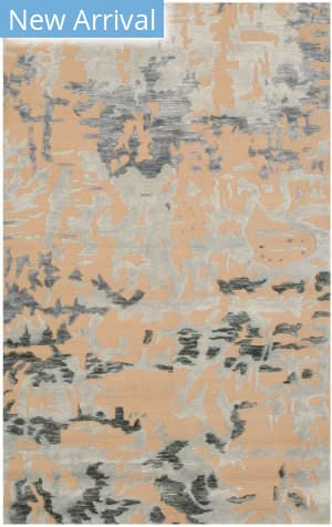 Eastern Rugs Bamboo Silk Picasa Ie91bl Blue Area Rug