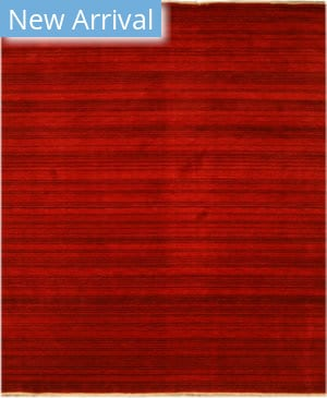 Eastern Rugs Stripe Lk37rd Red Area Rug