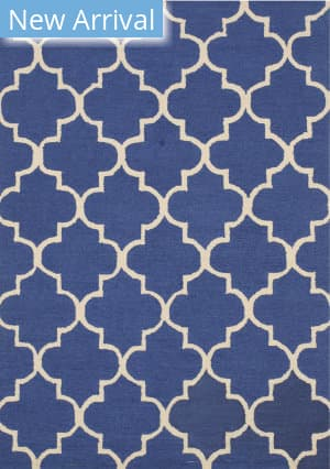 Eastern Rugs Moroccan Me2bl Blue Area Rug