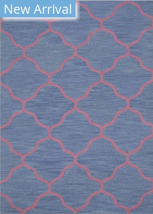 Eastern Rugs Moroccan Me5bl Blue Area Rug