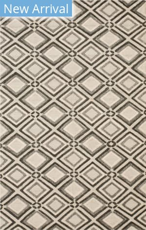 Eastern Rugs Raga Ocr25gy Gray Area Rug