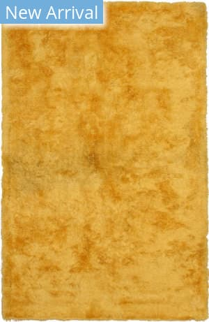 Eastern Rugs London Shag Ot86yl Yellow Area Rug