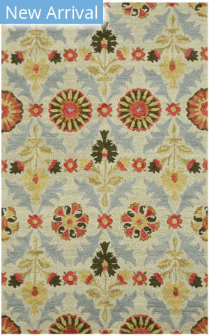 Eastern Rugs Floral Marcel T151iv Ivory Area Rug