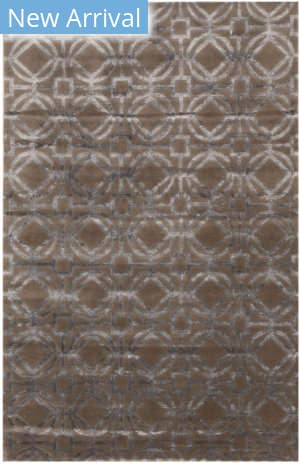 Eastern Rugs Tibetan T157gy Brown Area Rug