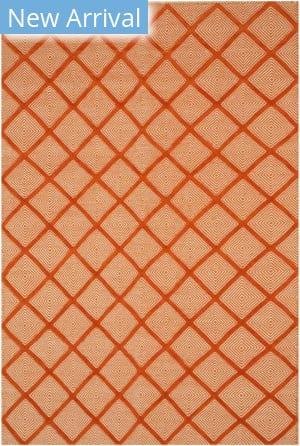 Eastern Rugs Xavier T166or Orange Area Rug
