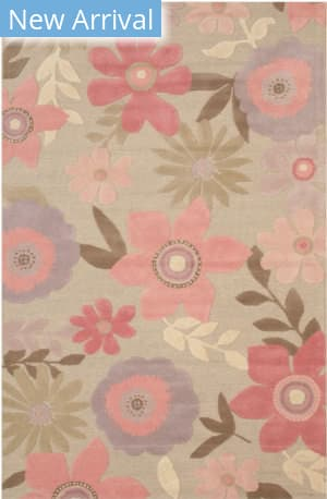 Eastern Rugs Florida T177gy Gray Area Rug