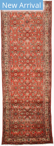 Eastern Rugs Hosseinabad X35093 Rust Area Rug