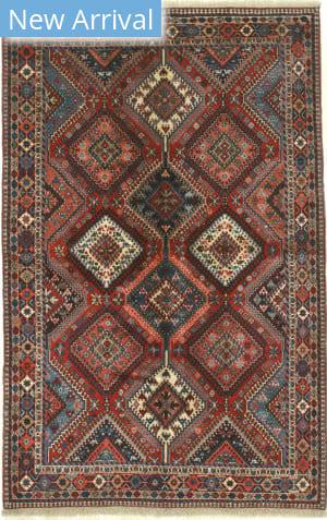 Eastern Rugs Yalameh X36019 Red Area Rug