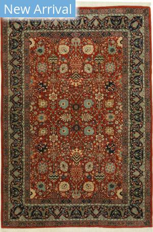 Eastern Rugs Indo-Moghul X36025 Rust Area Rug