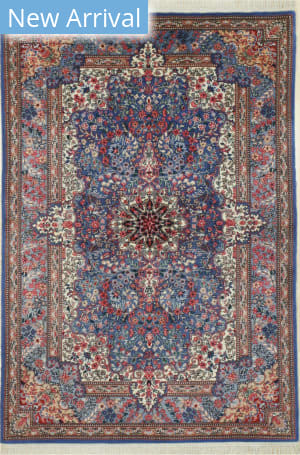 Eastern Rugs Sino-Kerman X36027 Blue Area Rug