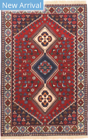 Eastern Rugs Yalameh X36055 Red Area Rug