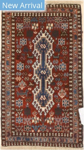 Eastern Rugs Yalameh X36057 Rust Area Rug