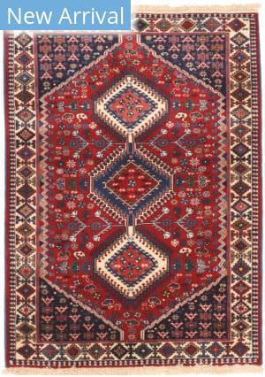 Eastern Rugs Yalameh X36063 Red Area Rug