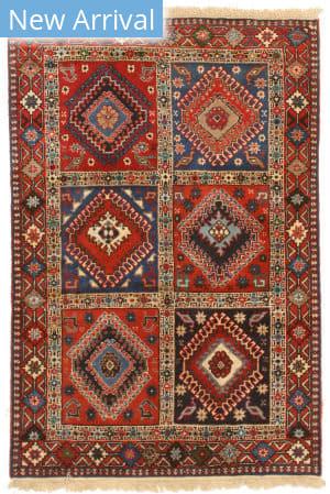Eastern Rugs Yalameh X36071 Red Area Rug