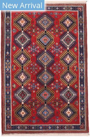 Eastern Rugs Yalameh X36077 Red Area Rug