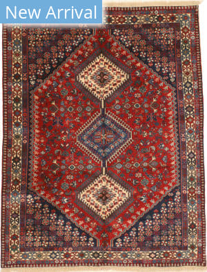 Eastern Rugs Yalameh X36084 Red Area Rug