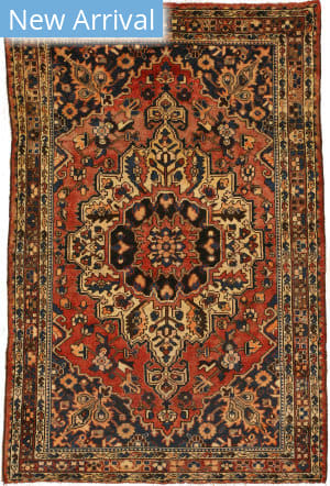 Eastern Rugs Bakhtiar X36113 Orange Area Rug